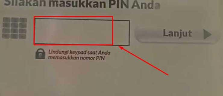 pin Bank Syariah Indonesia