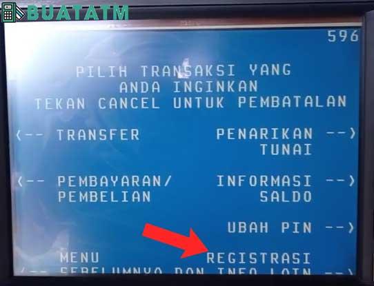 registrasi dan info lain