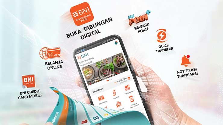 Biaya Daftar Mobile Banking BNI