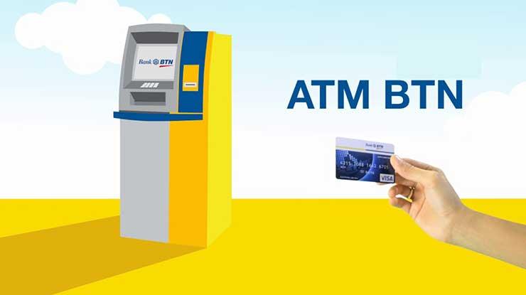 Cek Mutasi Bank BTN di ATM