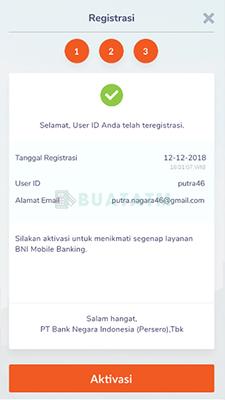 aktivasi Mobile Banking BNI Lewat HP