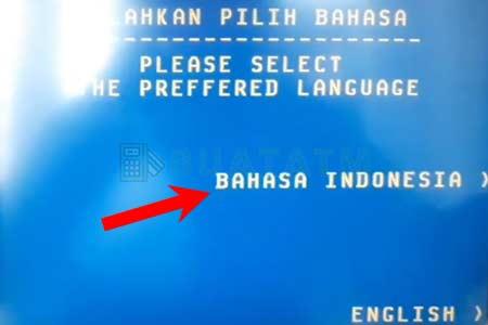 pilihan bahasa