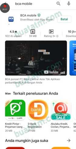 1 Download Instal BCA Mobile
