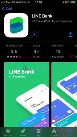 1 Download Instal Line Bank