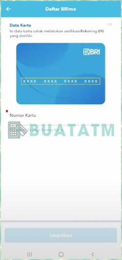 10 Masukan Nomor Kartu ATM