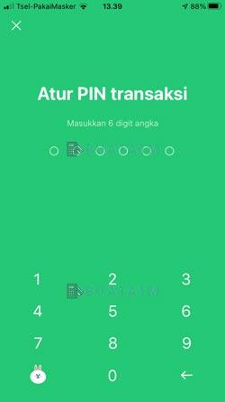 11 Buat PIN Transaksi