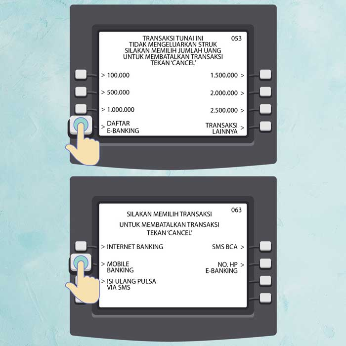 2 Daftar e Banking