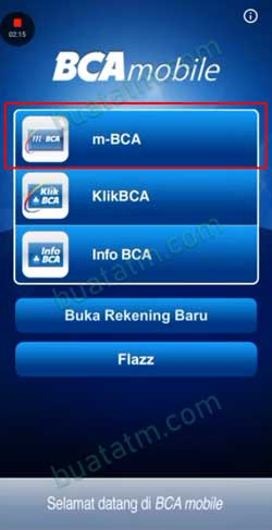 3 Pilih m BCA
