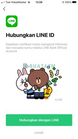 5 Hubungkan dengan Line