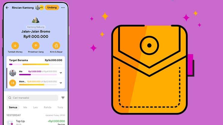 Biaya Isi Kantong Aplikasi Bank Jago