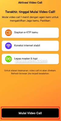 Cara aktivasi aplikasi Bank Jago