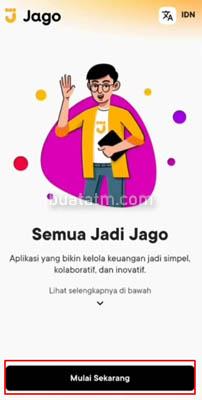 Daftar Aplikasi Bank Jago