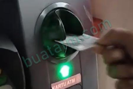 Input Kartu ATM