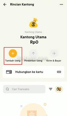 Kantong Aplikasi Bank Jago