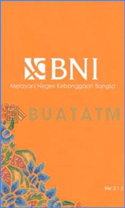 1 Buka AplikasI BNI SMS Banking