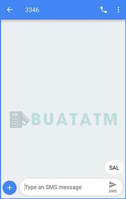 1 Ketik Format Cek Saldo SMS Banking BNI