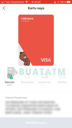 10 Kartu ATM Berhasil Dibuat