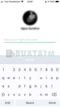 2 Masukkan Password Login