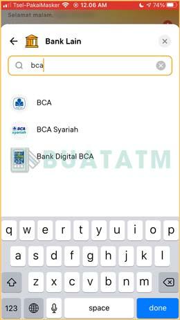 6 Cari Pilih Bank Tujuan