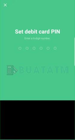 7 Buat PIN ATM