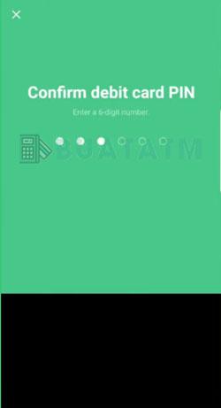 8 Konfirmasi PIN Aktivasi ATM Line Bank
