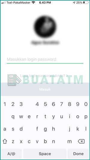 Masukkan Password Login