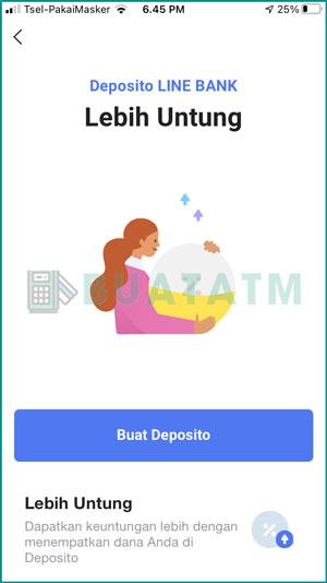 Pilih Buat Deposito