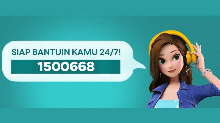 Telepon BCA Digital Haloblu