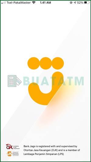1 Buka Aplikasi Bank Jago