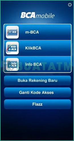 1 Pilih M BCA