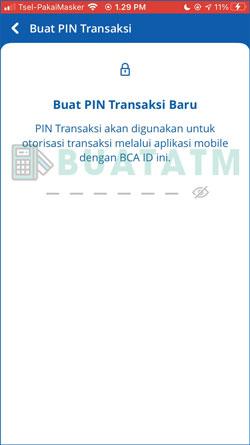 13 Buat PIN Transaksi