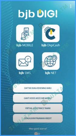 2 Pilih BJB Mobile 1