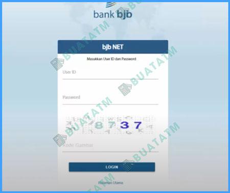 Login BJB Net