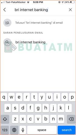 Tulis BRI Internet Banking