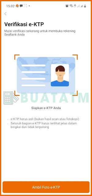Upload Foto eKTP