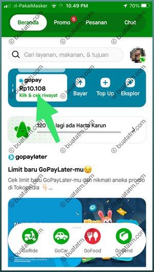2 Pilih Menu GoPay