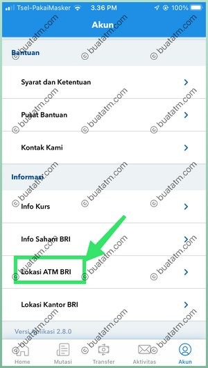 3 Pilih Lokasi ATM BRI