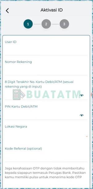 4 Lengkapi Aktivasi ID
