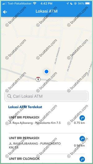 4 Lokasi ATM Terlihat