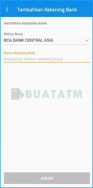 5 Pilih Bank Tujuan