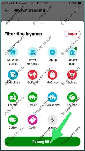 6 Pasang Filter